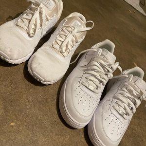 Nike Air Force 1 and Airmax Zero. Men's 11.5
